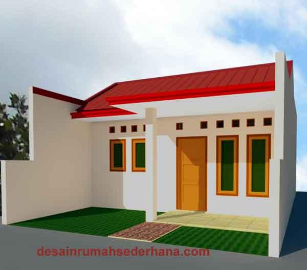 desain renovasi denah rumah type 21 60 kpr btn type