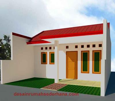Gambar Desain Renovasi Rumah Type 21,60 KPR-BTN 01