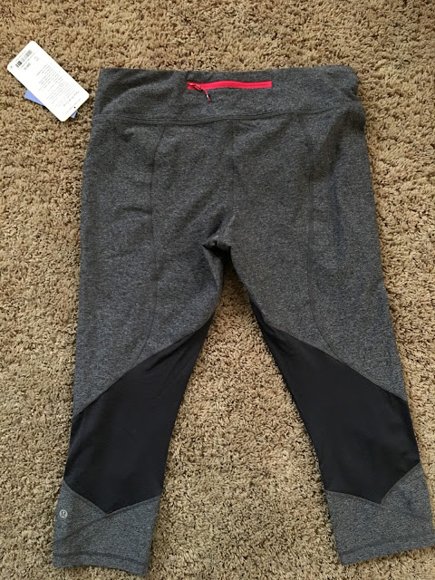 lululemon heathered-black-deep-coal pace-rival-crop