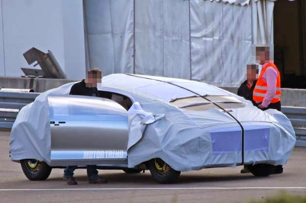Spied! Mystery Mercedes-Benz Concept Looks Space-Worthy