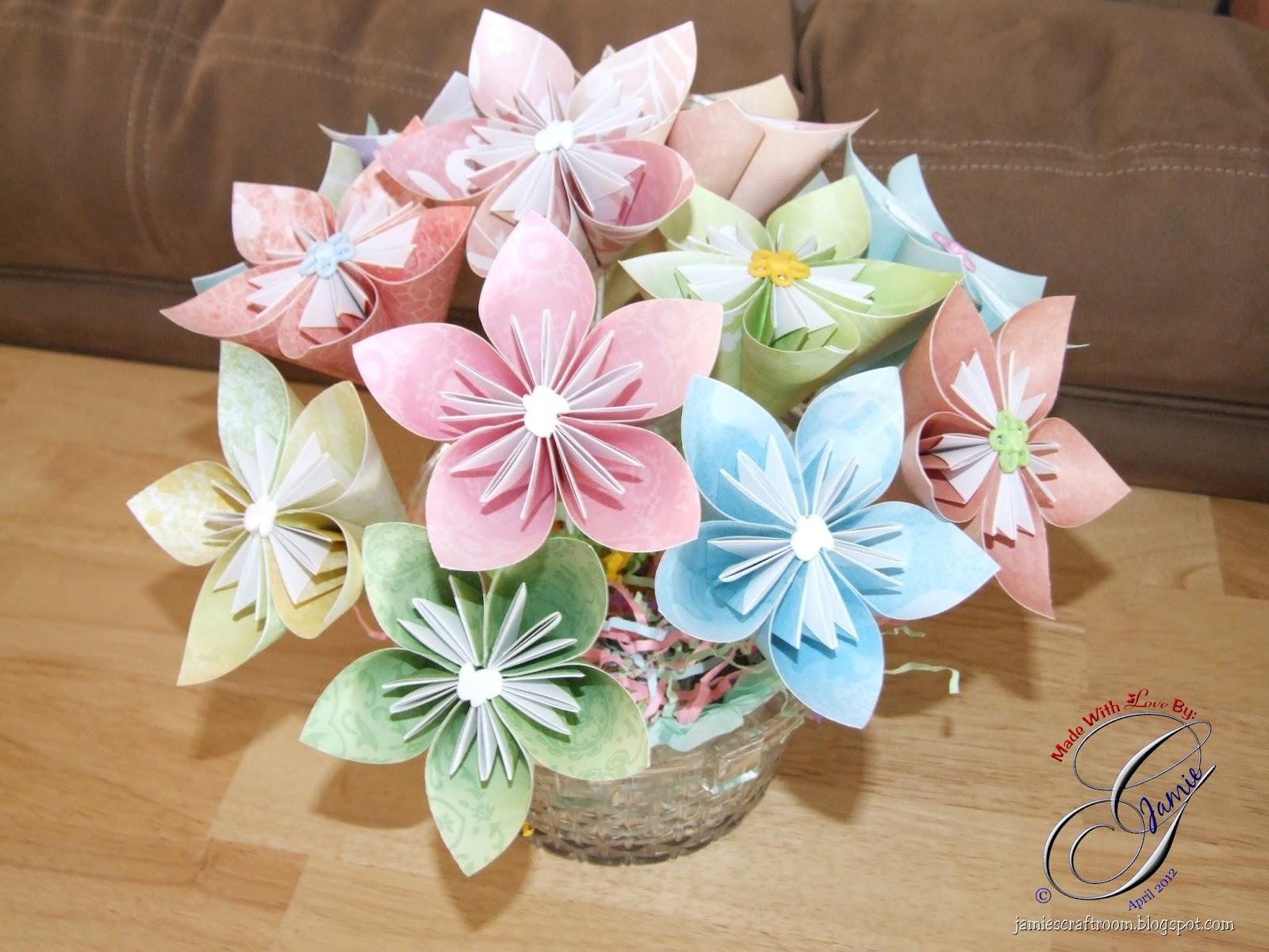 paper flower basket making - Romeo.landinez.co - photo#47