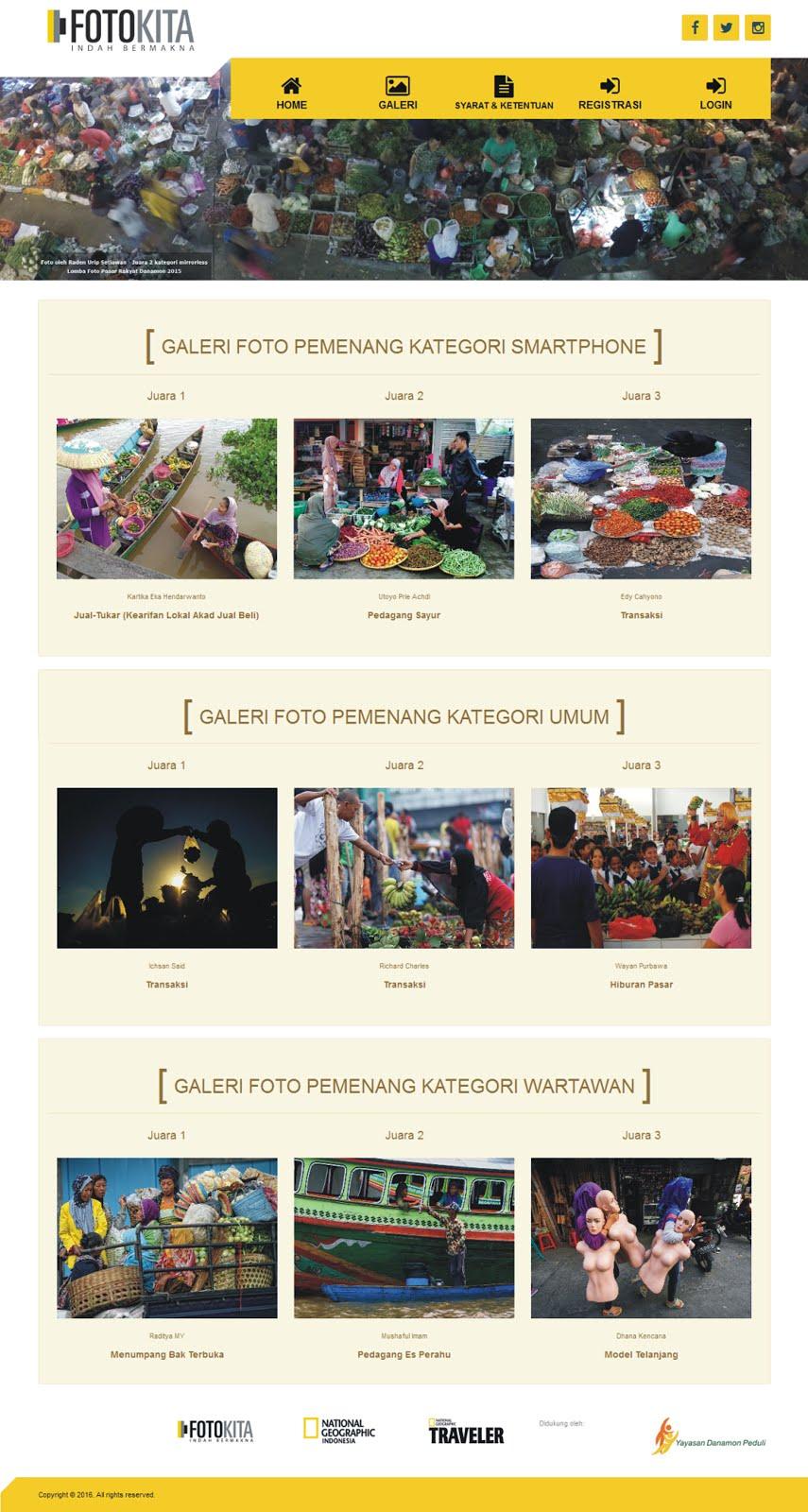 "Danamon - NATGEO ""Pasar Rakyat"""