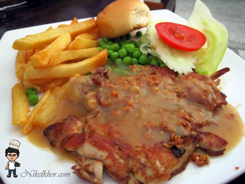 James foo and family western food fettes park penang nikel khor grilled garlic chicken chop rm8 forumfinder Images