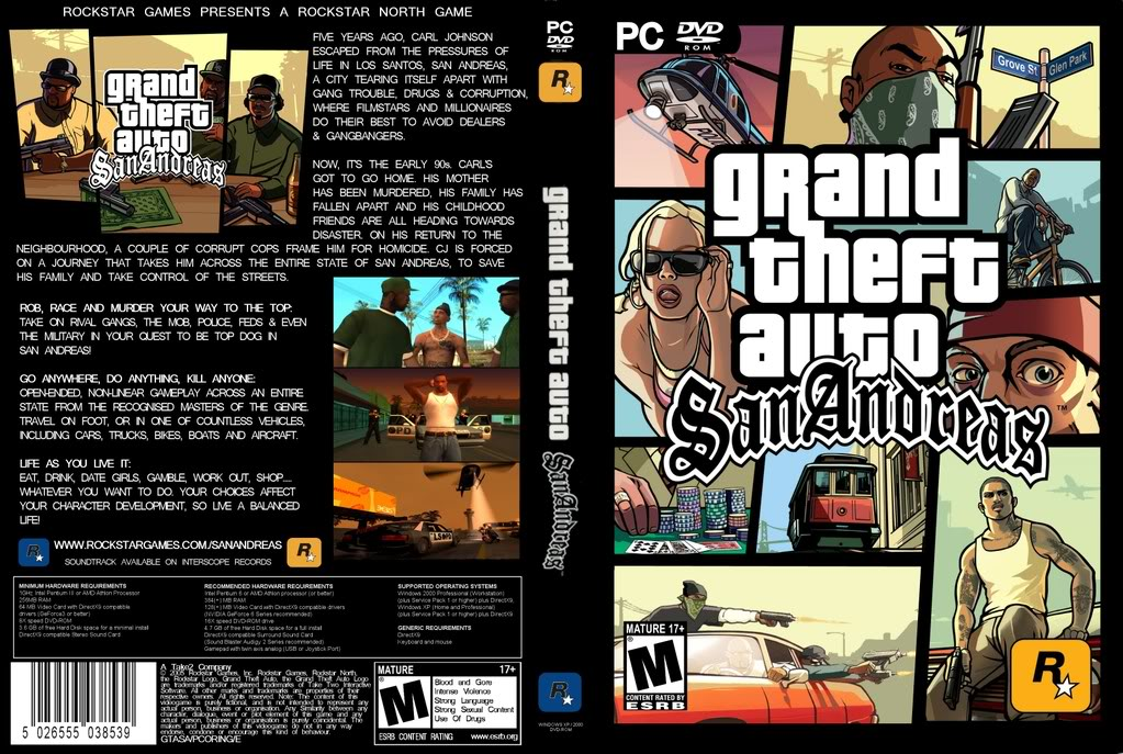 free download games gta san andreas for pc