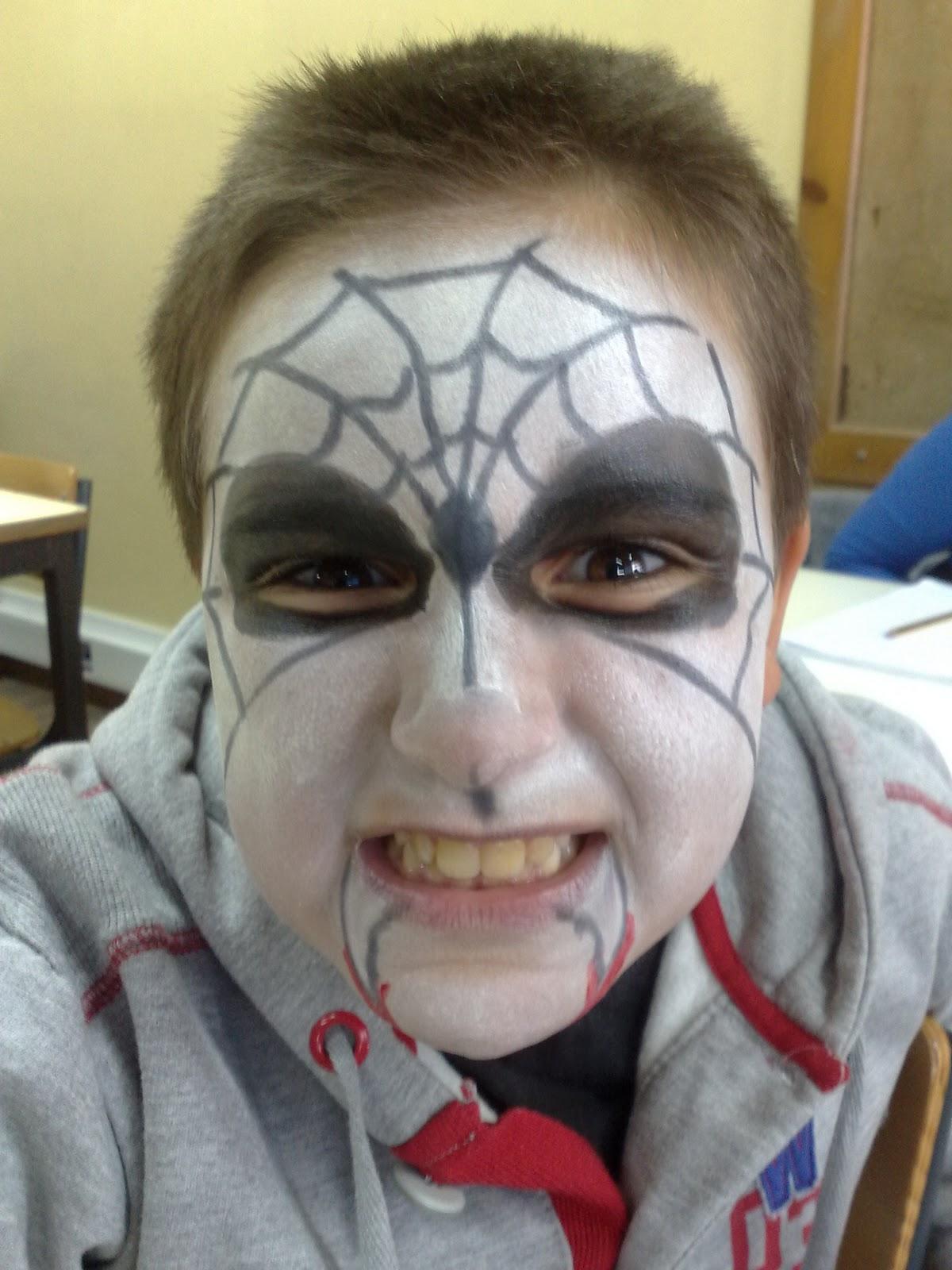 E v t 5 b aver o mar halloween pintura facial - Pinturas para halloween ...