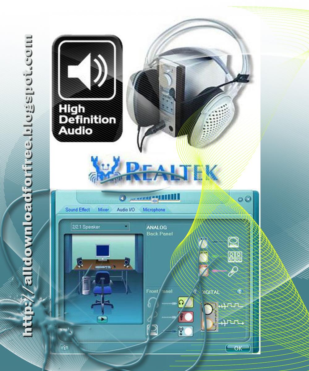Realtek Audio Driver for Windows 7 for Desktop Boards