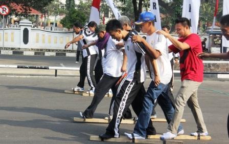Rayakan HUT RI ke 70 Pemkab Subang Gelar Beberapa Perlombaan