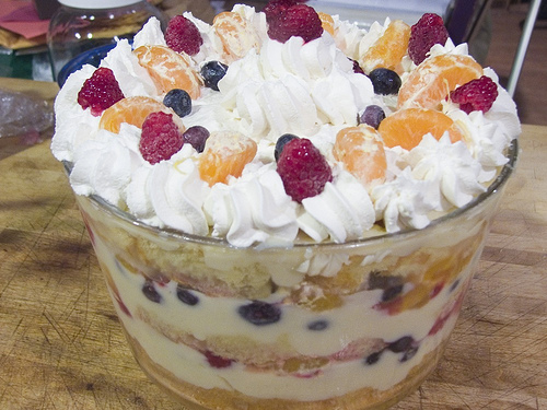 Trifle pudding layers recipes