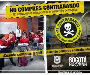 !NO COMPRES CONTRABANDO!
