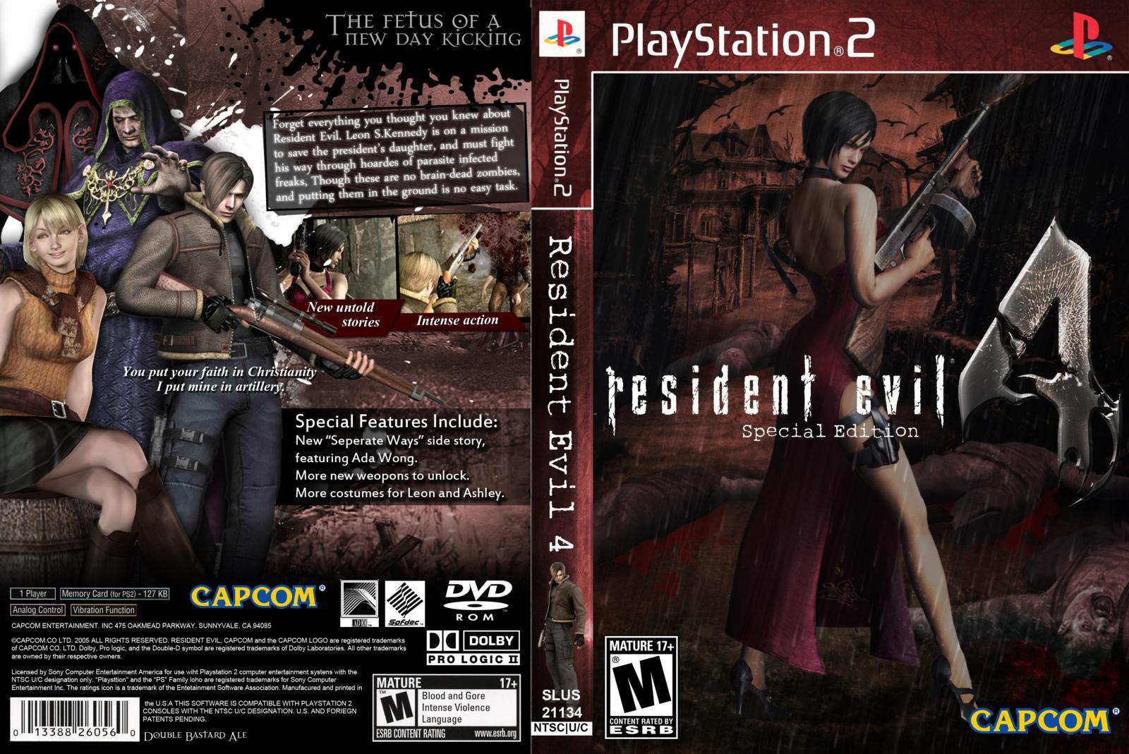 resident evil 4 ps2 rom