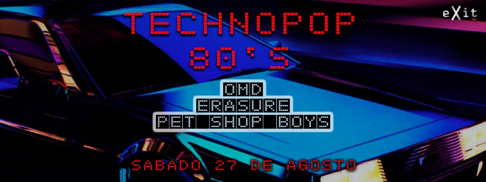 Technopop 80´s OMD - Erasure - Pet Shop Boy's
