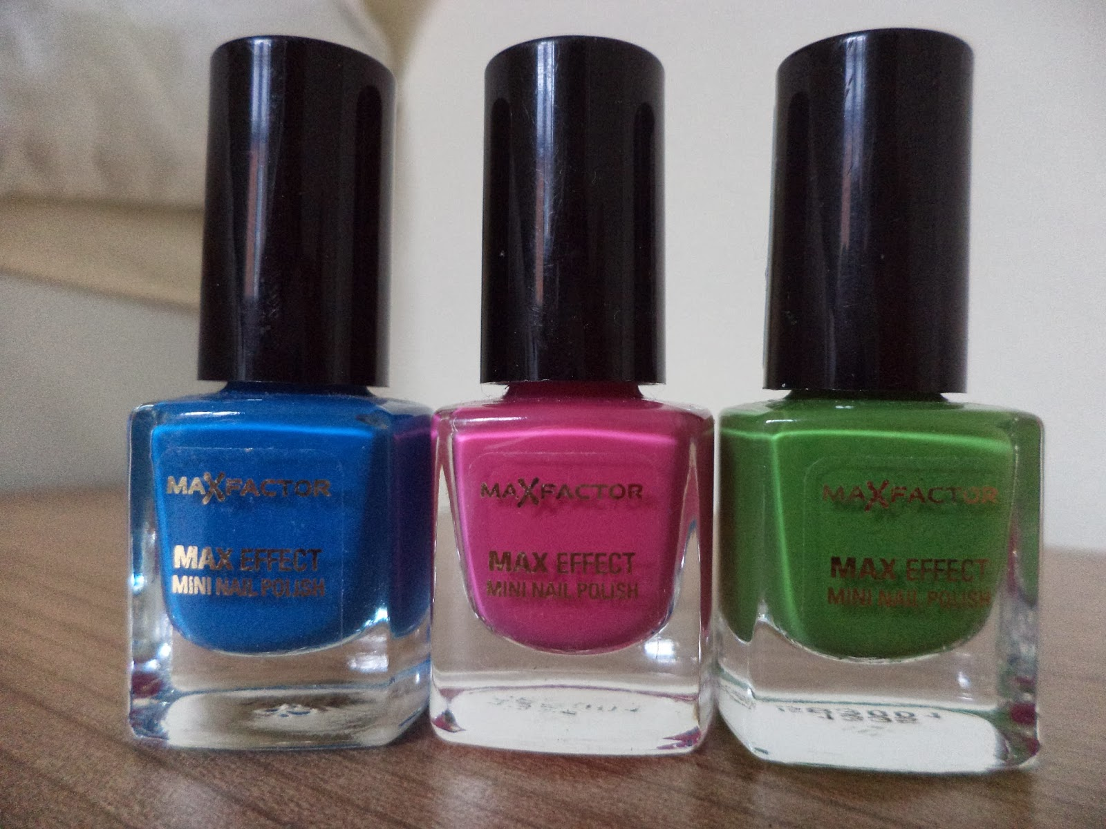 max factor mini nail polish