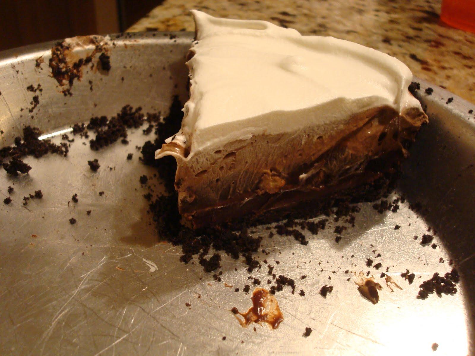 Hot Dinner Happy Home: Triple Layer Mud Pie