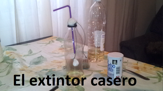 Cómo hacer un extintor casero experimentos caseros para niños
