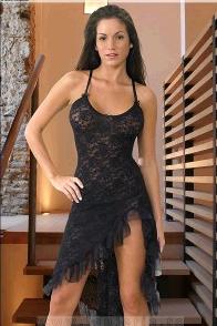 Lenjerie rochie dantela 6009