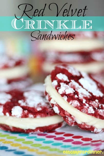 oh my gosh what a stunning cookie the bright red cookie with white ...