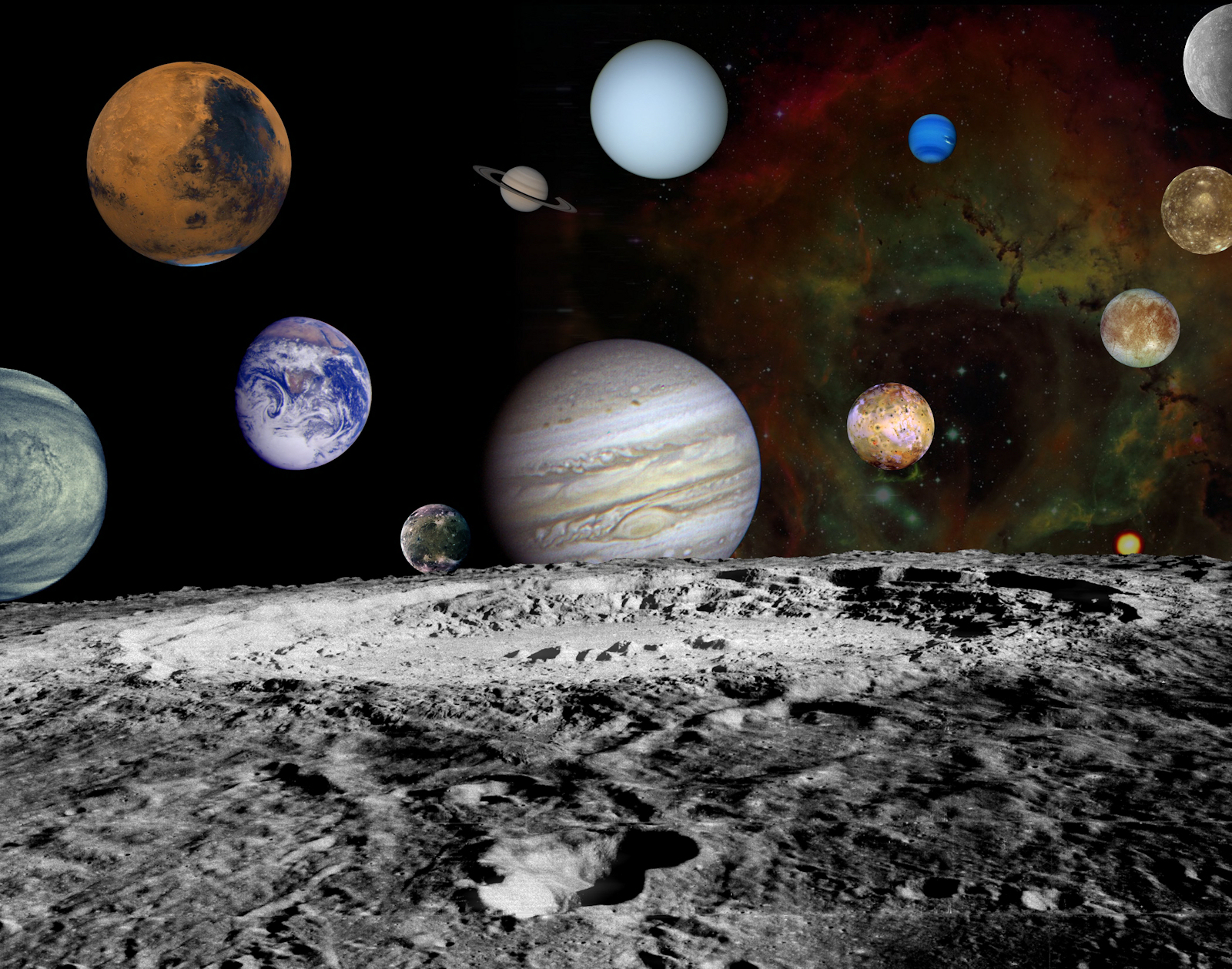 the 7 planets of solar system - photo #15