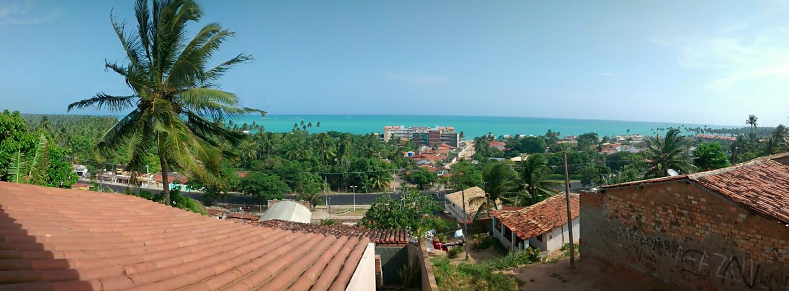 Vista do restaurante Vila Chamusca.