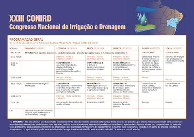 Codevasf marca presença no Congresso Nacional de Irrigação e Drenagem no Oeste baiano