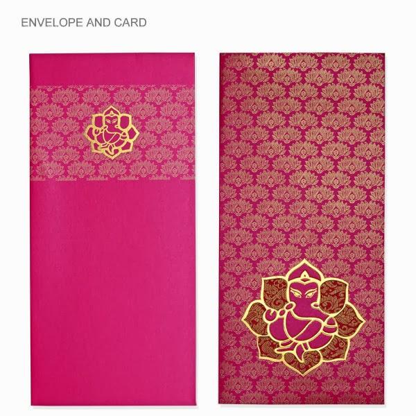 Purple Wedding Invitations: Indian wedding invitations