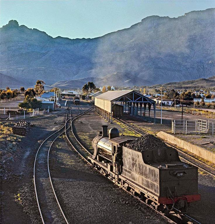 Ladismith South Africa  City pictures : old STEAM LOCOMOTIVES in South Africa: Touws River Ladismith branch ...