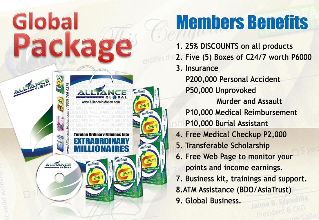 Aimazing Millionaires AIM Global Members Package
