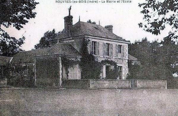 la mairie et l'école des garçons