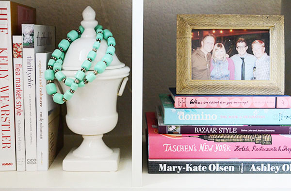 the peak of tres chic: 5 book vignettes that have me going gaga