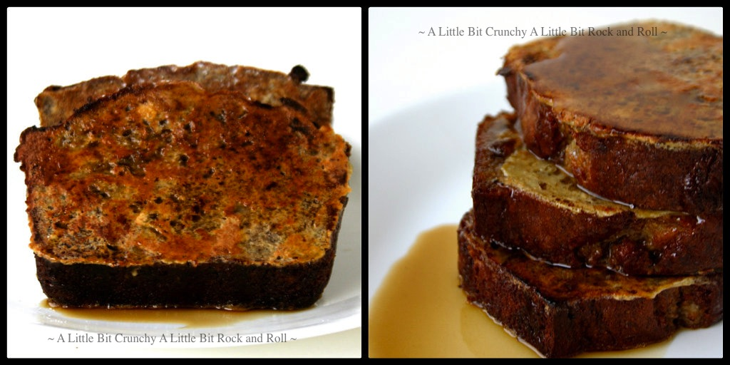 ... Bit Crunchy A Little Bit Rock and Roll: Banana Bread French Toast