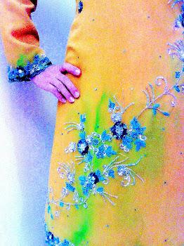 Saree Kuning Pucuk Muda No 6 RM499