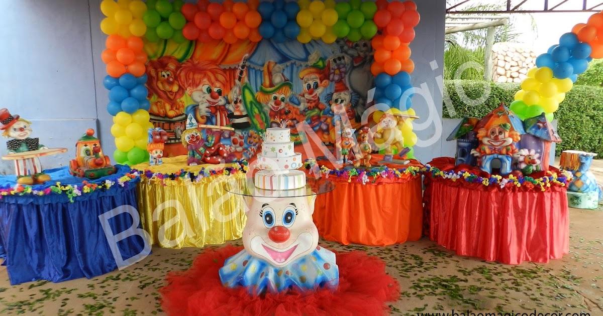 Agora n s somos festeirah decor decora o do circo for Agora decoration