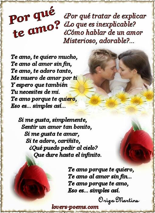 te amo poemas