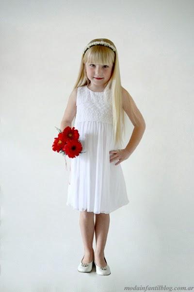 moda infantil gro vestidos para eventos nenas verano 2014