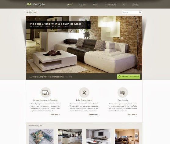 JM Lifestyle Responsive Business Joomla Template