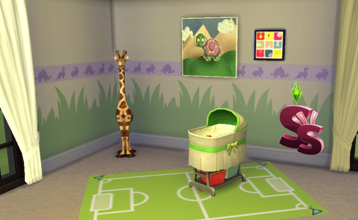 Sra simmer descarga cc infantil creado por sra simmer for Cuartos para ninos sims 4