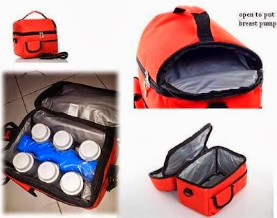 vcool vcoool cooler bag 2 in 1 storage bottle ice brick wave vkool
