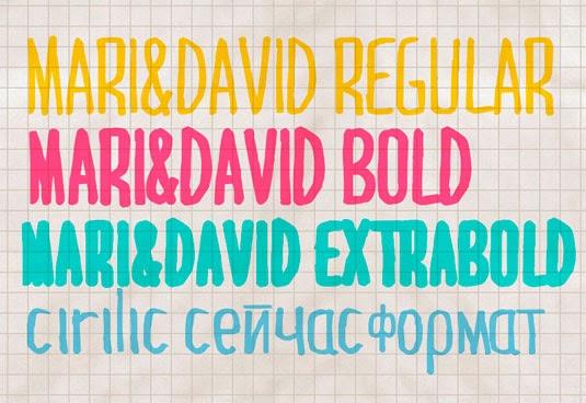 Handwriting Typefaces