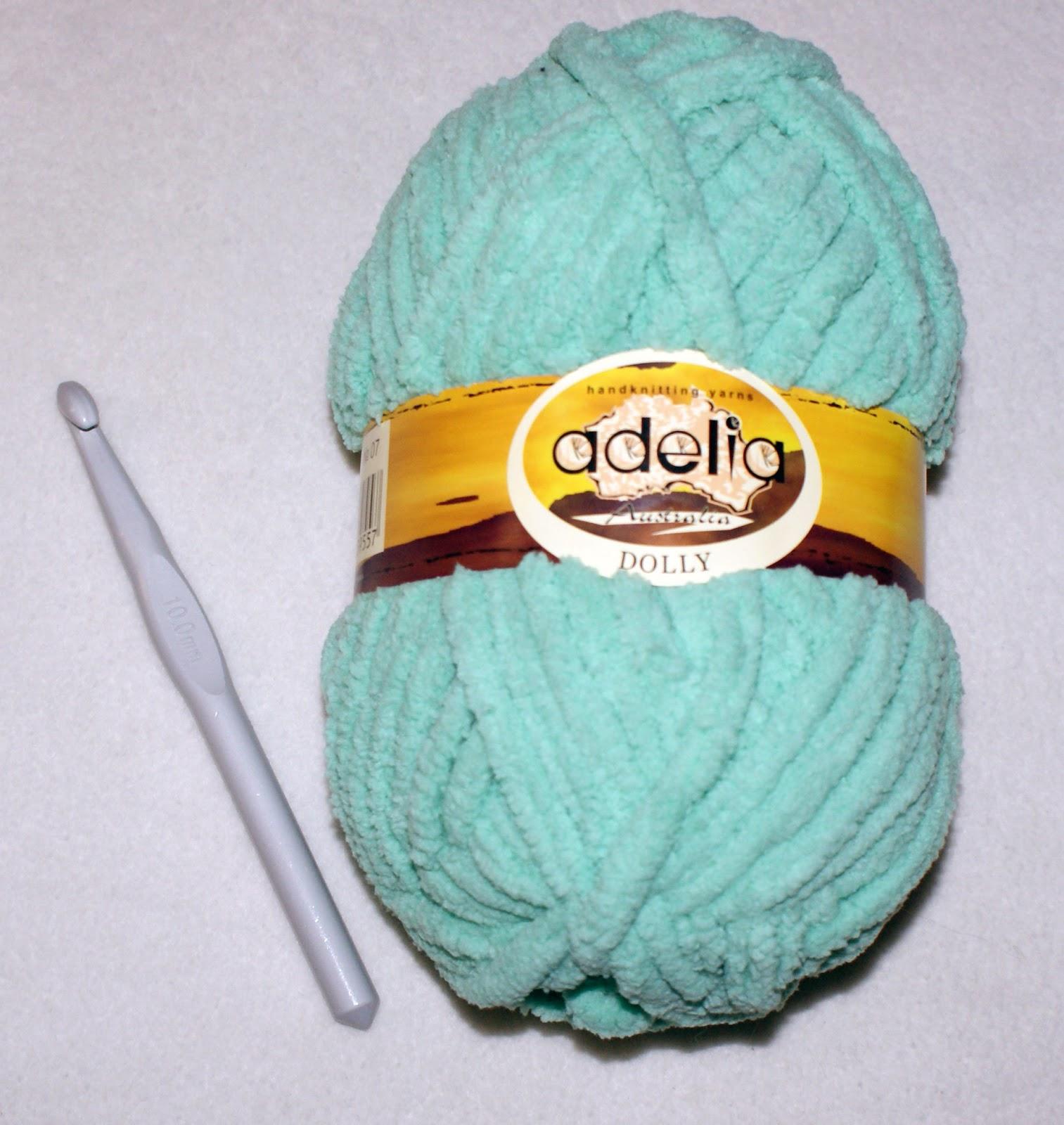 Вязание из плюшевой пряжи