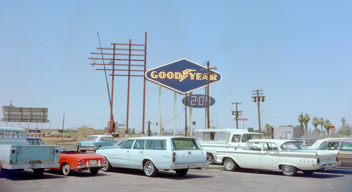 History Adventuring The Connection Between Goodyear Tires The Goodyear Blim
