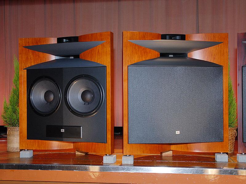 The JBL Everest speakers