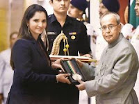Sania Mirza conferred with Khelaratna
