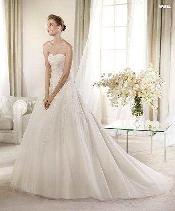 una novia diferente: st patrick vestidos de novia, colección glamour