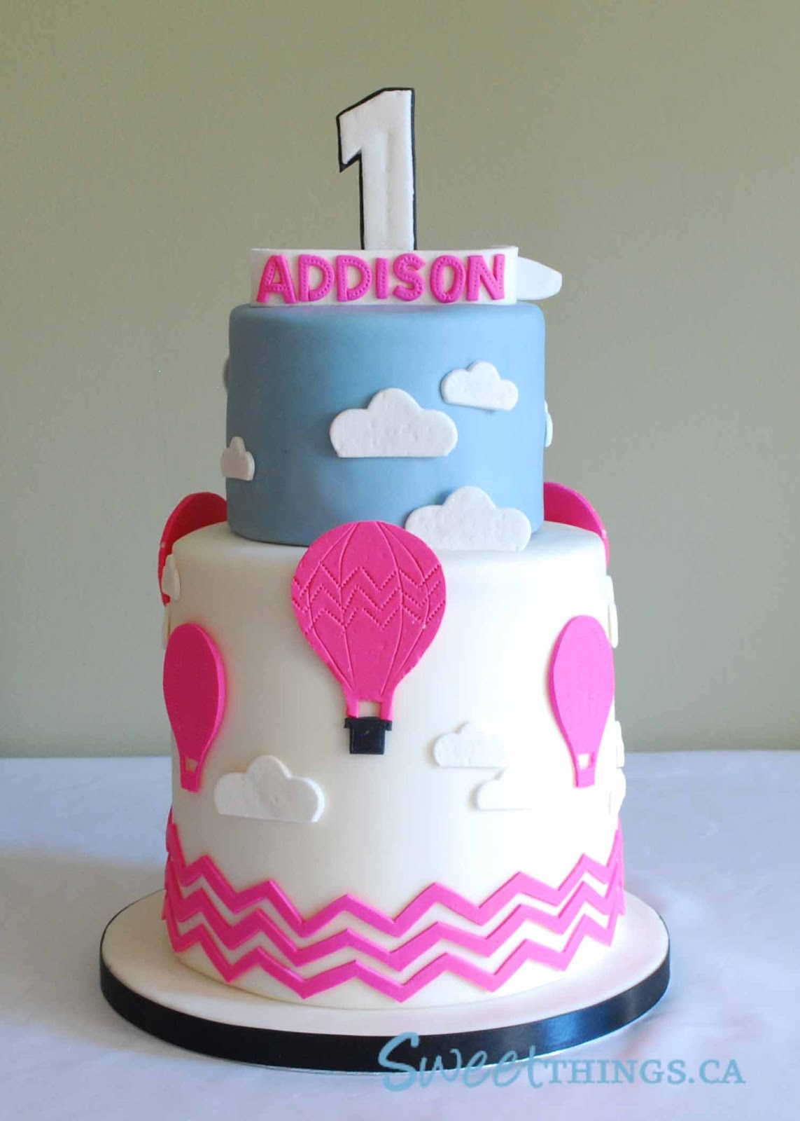 Cake Design Ballarat : SweetThings: Hot Air Balloon Cake
