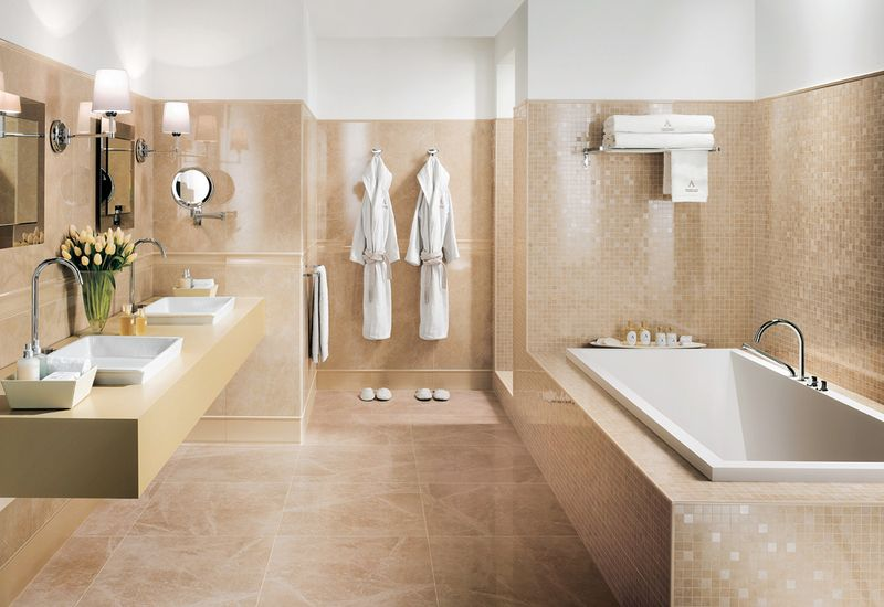 Decoracion Baño Beige:Banos Con Color Beige Blanco