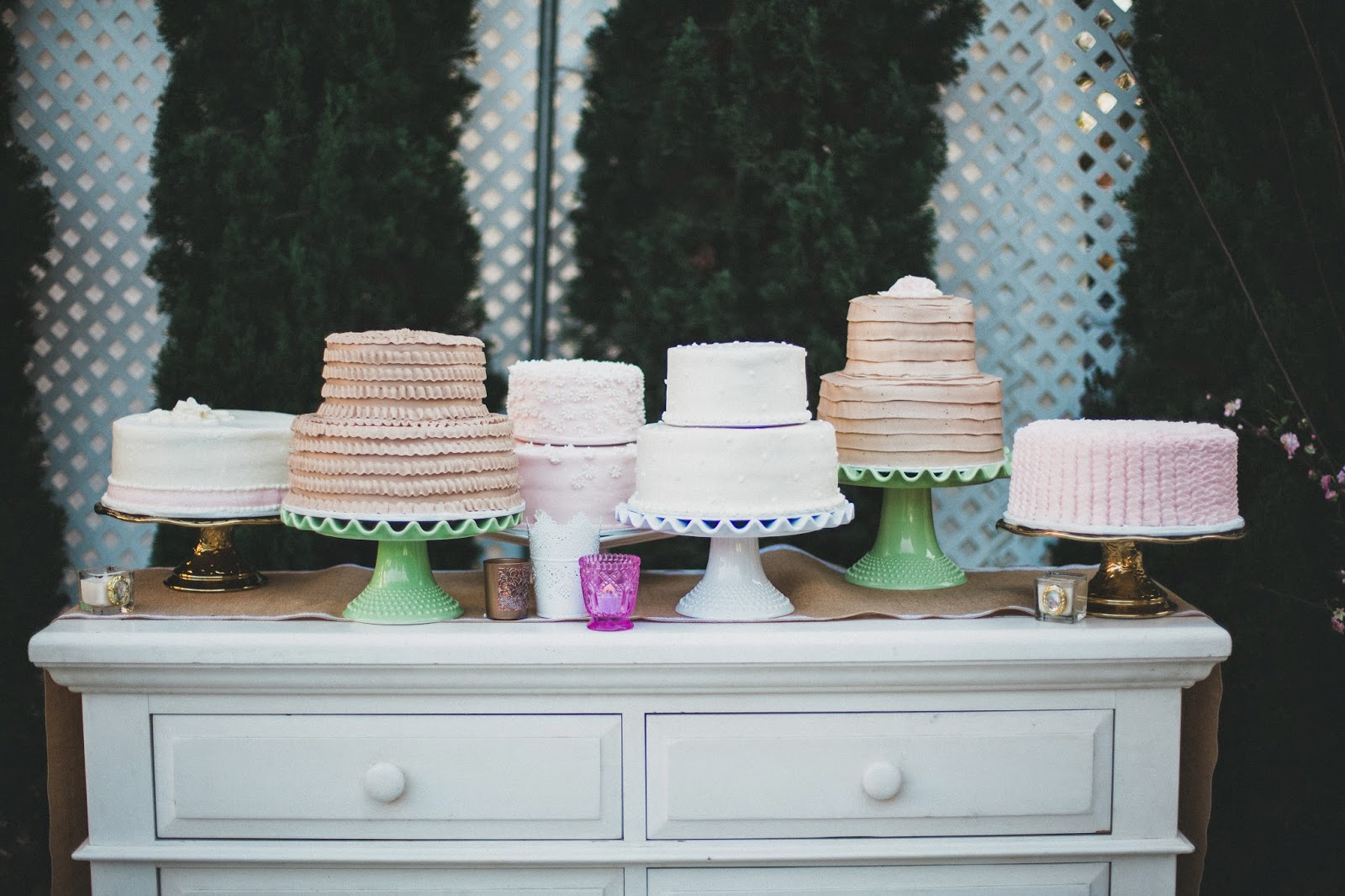 Jackie Fo Multiple Wedding Cakes