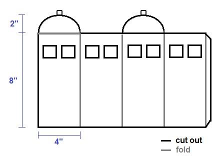 tardis template for cake - craft tardis centrepieces spiffy stitches