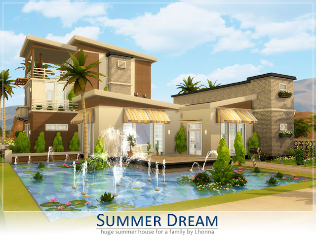 Sims 4 Summer Dream House