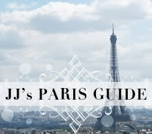 JJ's Paris Guide