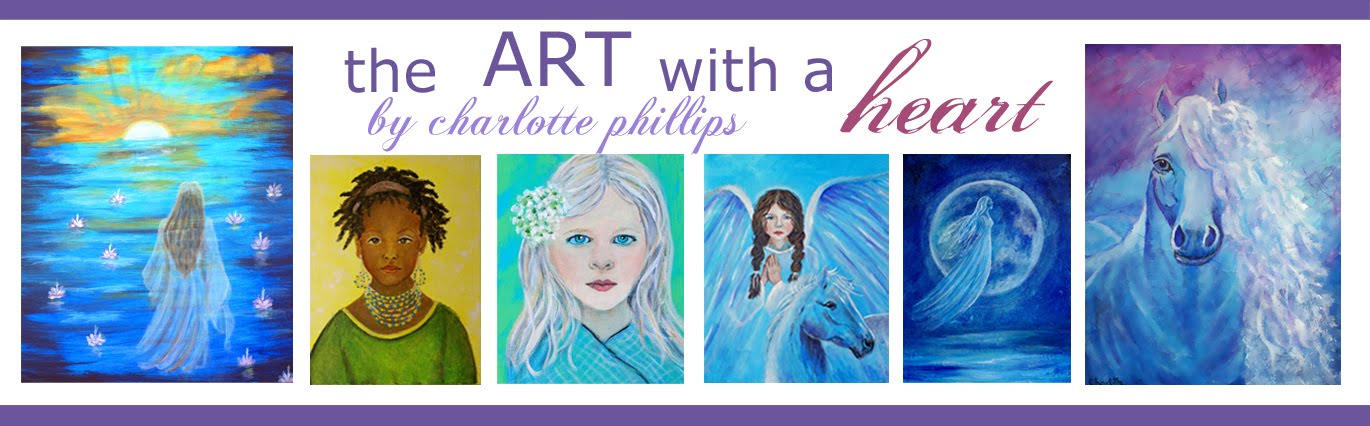 The Art With A Heart By Charlotte Phillips