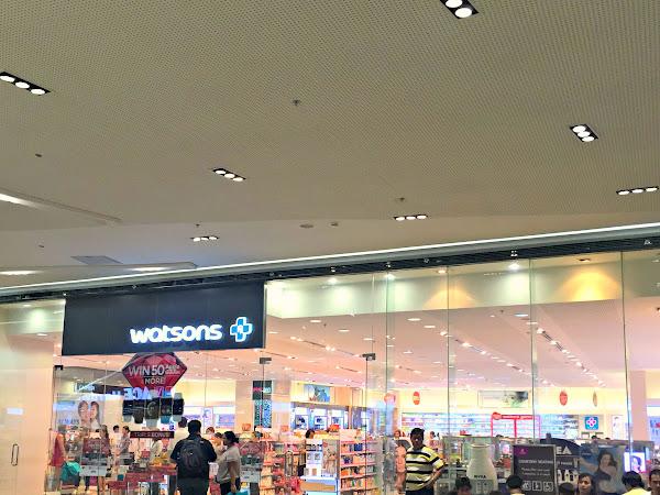 Watsons Triple Bonus Promo